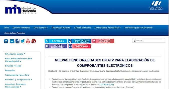 Factura Electronica Costa Rica poster