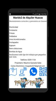 Marido2 de Alquiler Huacas poster