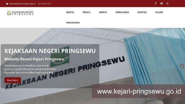 Kejaksaan Negeri Pringsewu screenshot 1