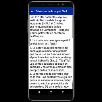 Diccionario Ch'ol - Español screenshot 7