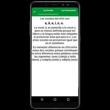 Diccionario Ch'ol - Español screenshot 3