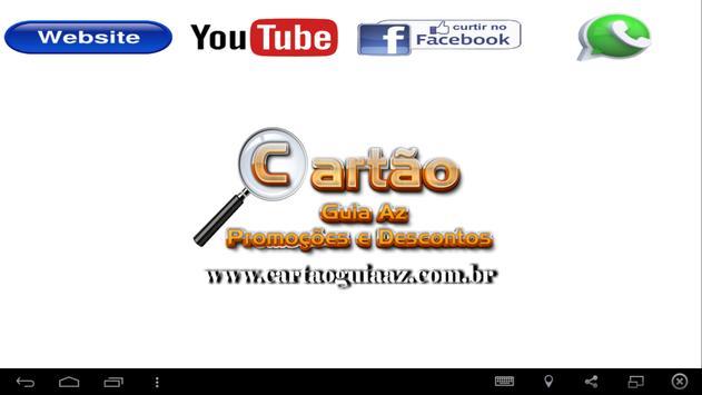 Cartão Guia Az screenshot 1