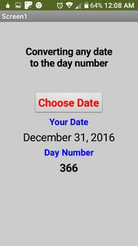 Converting any date to the day number screenshot 6