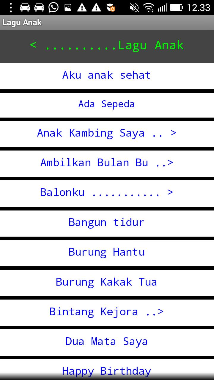 Buku Not Lagu For Android Apk Download