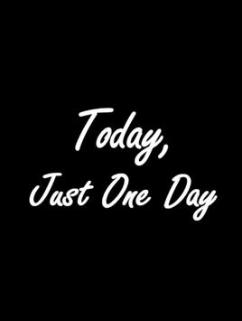 Today, Just one day poster