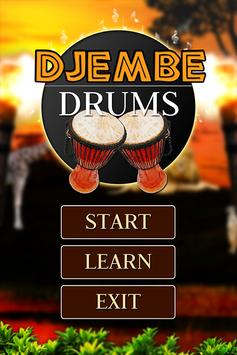 Djembe Drums poster