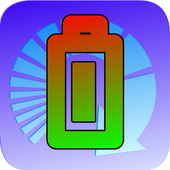 Electric charge converter icon
