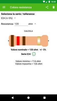Calcolo colore resistenza الملصق