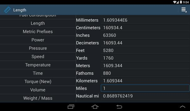 Simply Convert Units screenshot 16