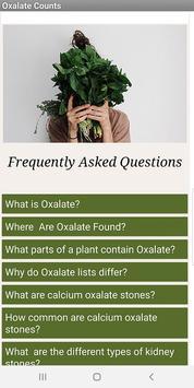 Oxalate Food Counts screenshot 5