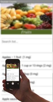 Oxalate Food Counts screenshot 3