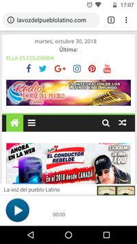 La Voz del Pueblo Latino screenshot 1
