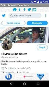 La Voz del Pueblo Latino screenshot 3
