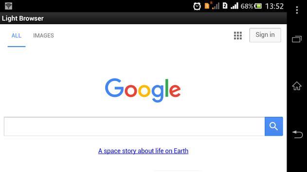 Light Browser screenshot 4