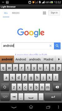 Light Browser screenshot 1