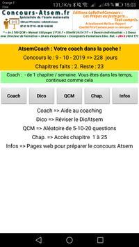 Atsem Coach : Un Coach dans votre Poche ! screenshot 1