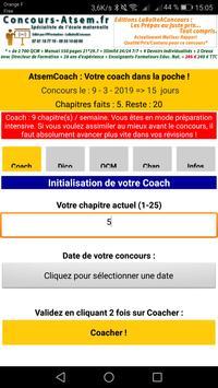Atsem Coach : Un Coach dans votre Poche ! screenshot 2