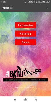 Katalog Pameran Banjiiiir poster