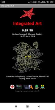Katalog Integrated Art - IASR ITB poster