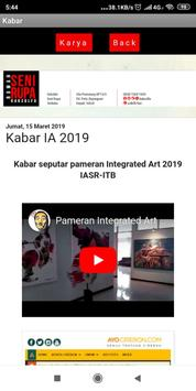 Katalog Integrated Art - IASR ITB screenshot 1