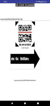QR CODE SCANNER (free) 截图 1
