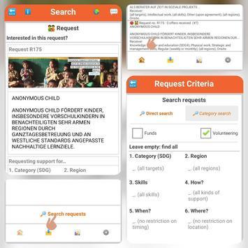 iDonate screenshot 2