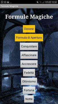 Formule Magiche poster