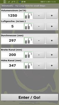 KlimAwahu - Luftleitungen berechnen poster