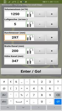 KlimAwahu - Luftleitungen berechnen screenshot 1