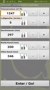 KlimAwahu - Luftleitungen berechnen screenshot 2