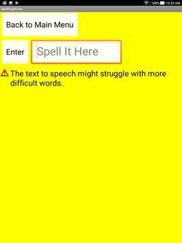 Spelling Practice For Kids screenshot 2