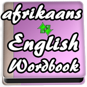 Learn Afrikaans to English Word Book icon