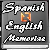 Memorize Spanish to English Words - Quiz test icon