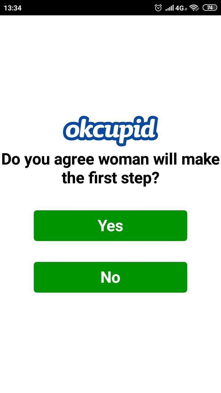 Dot okcupid green Does the