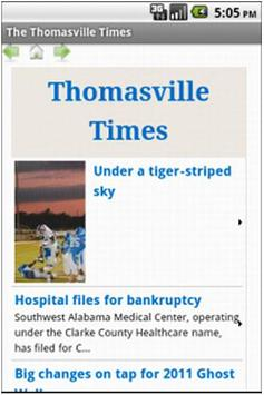 The Thomasville Times poster