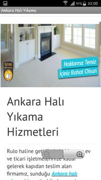 Ankara Halı Yıkama poster