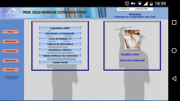 Prof. Célio Moliterno screenshot 4