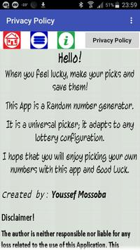 MyLottoPicks screenshot 7