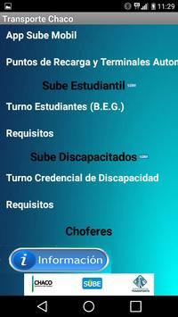 Transporte Chaco screenshot 1