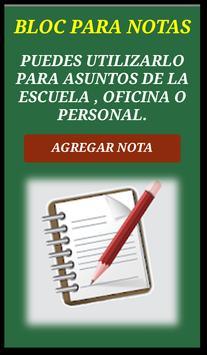 BLOC NOTAS RÁPIDAS Y SENCILLAS DEL DÍA A DÍA poster