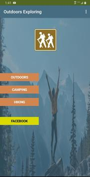Outdoors Exploring poster