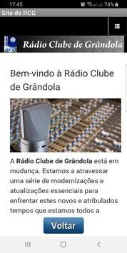 Rádio Clube de Grândola - RCG screenshot 1