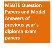 MSBTE Model Answers and Question Papers icon