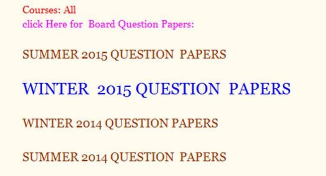 MSBTE Model Answers and Question Papers screenshot 5