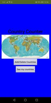 Country Counter poster