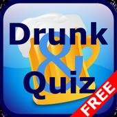 Drunk & Quiz Free icon