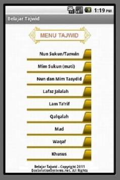 Belajar Tajwid screenshot 1