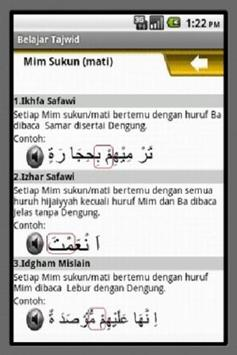 Belajar Tajwid screenshot 2