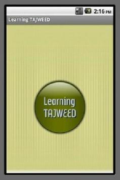 Learning Tajweed poster