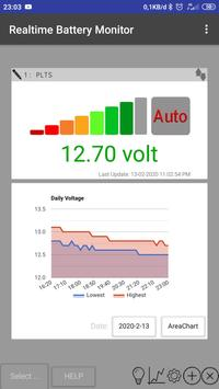 Realtime Battery Monitor - PLTS Offgrid screenshot 2